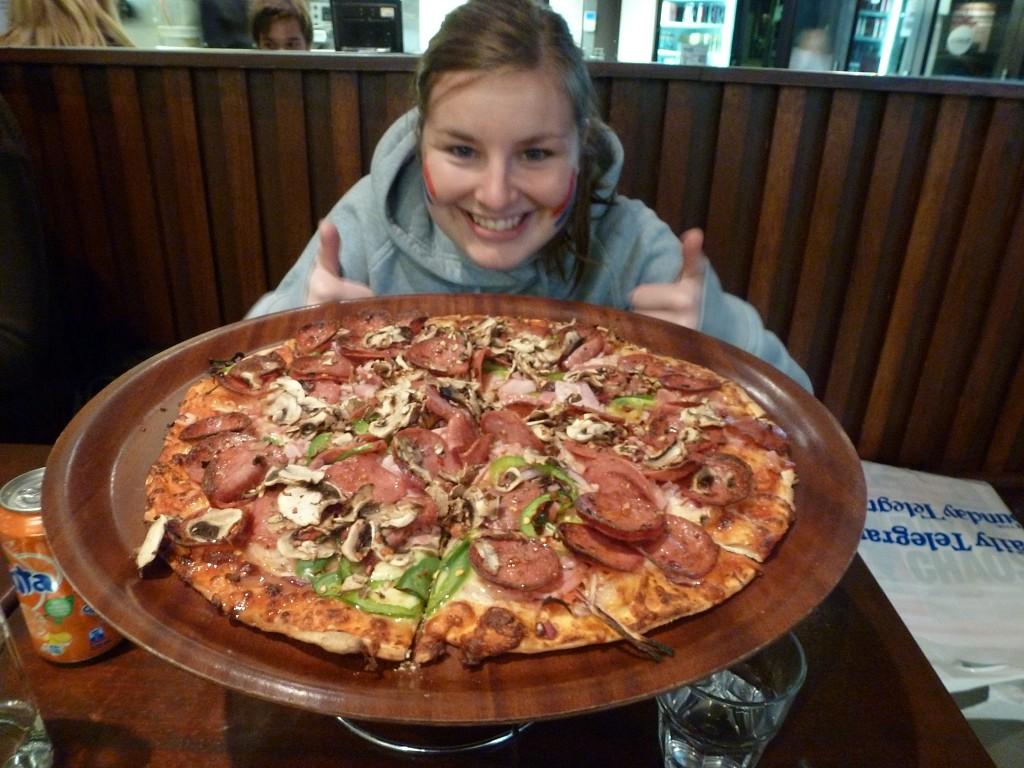 die beste Pizza der Welt!