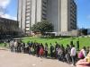 Die Schlange am AIESEC Stand- super Recruitment