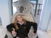 Christina mit dem ultimativen Koala